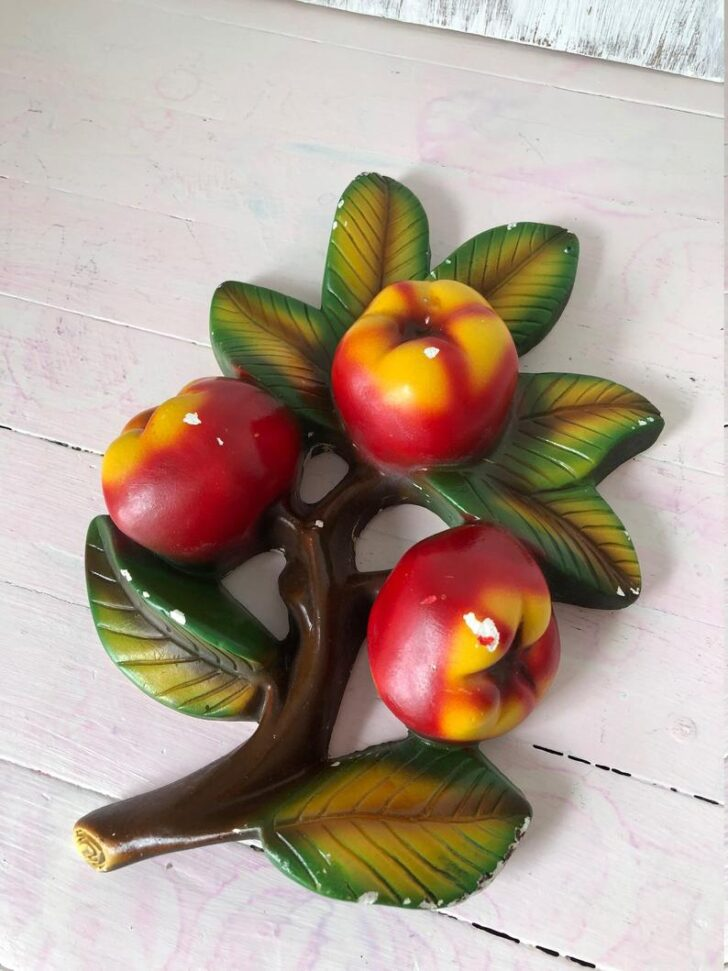Medium Size of Obst Aufbewahrung Wand Kche Dekor Kreide Ware Apfel Etsy Wandleuchten Bad Wandspiegel Wohnzimmer Wohnwand Wandleuchte Badezimmer Küche Regal Aus Obstkisten Wohnzimmer Obst Aufbewahrung Wand