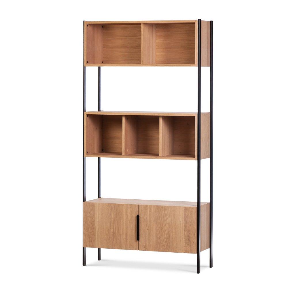 Full Size of Designer Regal Trento Aus Holz Metall Wermo Bett Weiß Regale Wohnzimmer Regalwürfel Metall