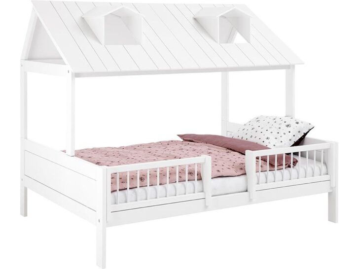 Medium Size of Bettgestell 120x200 Beachhouse Bett Mit Deluxe Lattenrost Cm In Wei Lackiert Weiß Betten Bettkasten Matratze Und Wohnzimmer Bettgestell 120x200