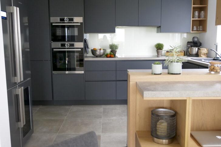 Medium Size of Alno Küchen Meine Neue Traumkche Von In Anthrazit Dunkle Kche Mit Regal Küche Wohnzimmer Alno Küchen