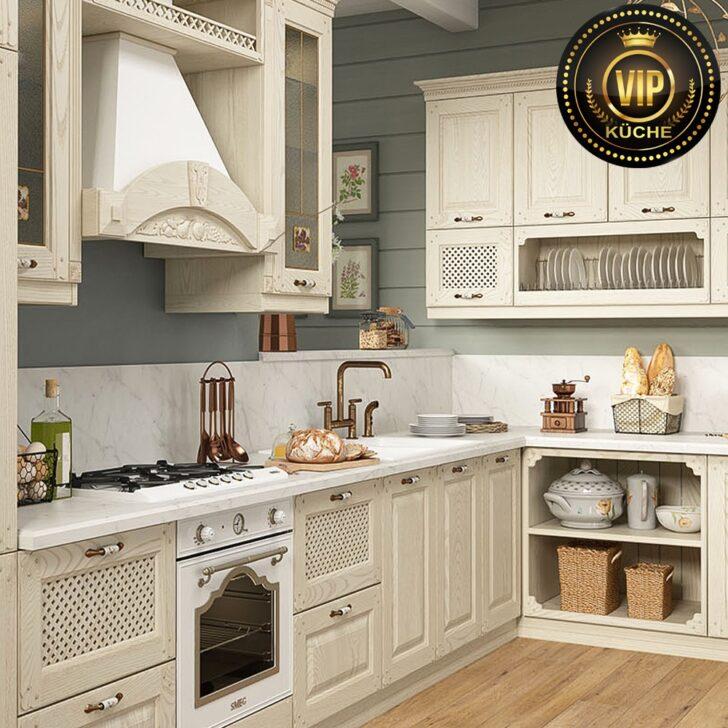 Medium Size of Küchenmöbel Estel Romantische Mediterrane Landhauskche Wohnzimmer Küchenmöbel