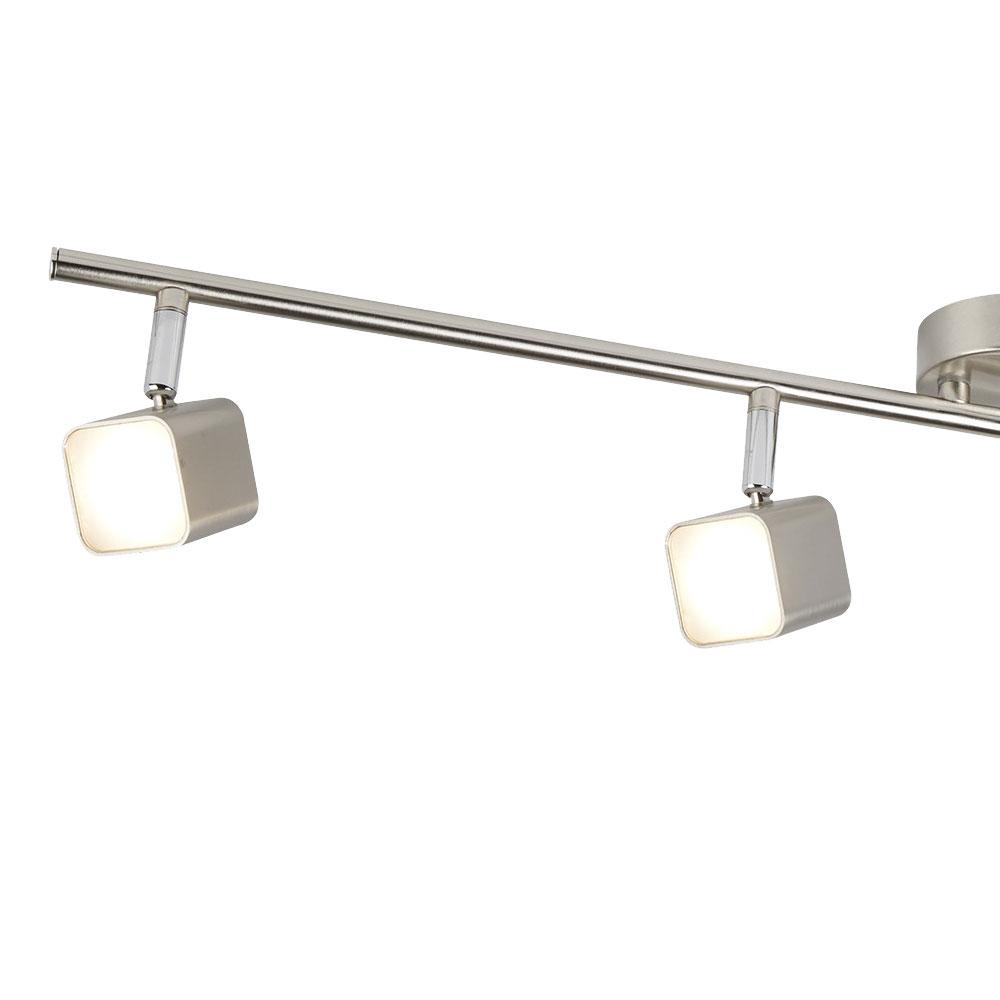 Full Size of Led Deckenlampe Mit Vier Beweglichen Spots Fr Ihre Kche Etc Shop Massivholzküche Küche Waschbecken Granitplatten Umziehen Apothekerschrank Mobile Wohnzimmer Deckenlampen Küche