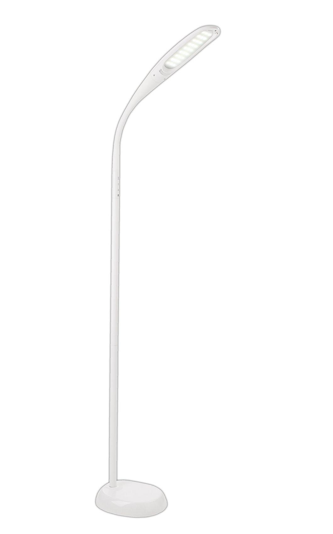 Full Size of Stehlampe Led Dimmbar Deckenfluter Ikea Design Farbwechsel Mit Leseleuchte 3000 Lumen Edelstahl Tageslicht Standleuchte Wei Flexibel 3 Lichtarten 4fach Wohnzimmer Stehlampe Led Dimmbar
