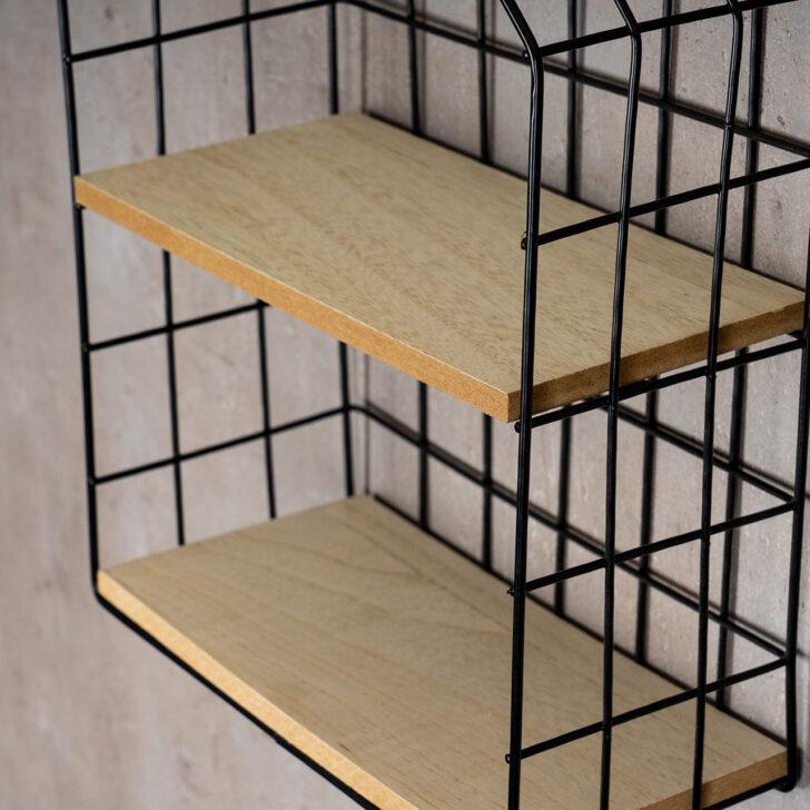 Medium Size of Wandregal Metall Schwarz Regal 22x32cm Industrial Style Hngeregal Bett Weiß Schwarzes Bad Schwarze Küche Regale Landhaus Wohnzimmer Wandregal Metall Schwarz