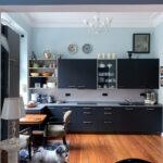 Türkise Küche Wohnzimmer Altbauwohnung Chic Und Charmant Renoviert Farbefreudeleben Gebrauchte Einbauküche Granitplatten Küche Hochglanz Grau Wanduhr Grillplatte Deckenleuchten