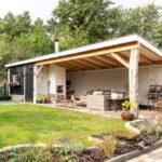 Terrassen Pavillon Wohnzimmer Terrassen Pavillon In 2020 Backyard Patio Designs Garten