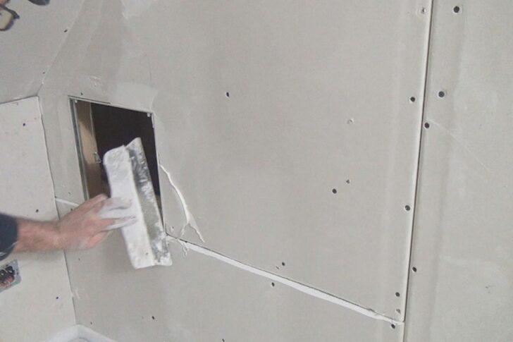 Medium Size of Moderne Decken Aus Rigips Verspachteln Spachteln Wie Der Profi Bett Ausziehbar Deckenleuchte Schlafzimmer Modern Bad Ausgefallene Betten Regale Europaletten Wohnzimmer Moderne Decken Aus Rigips