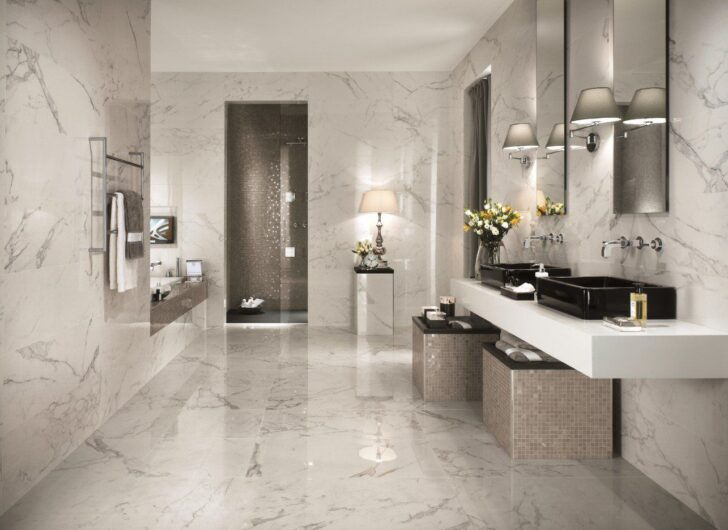 Medium Size of Italienische Bodenfliesen Inspiration 37 Ideen Fr Fliesen Im Badezimmer Bad Küche Wohnzimmer Italienische Bodenfliesen