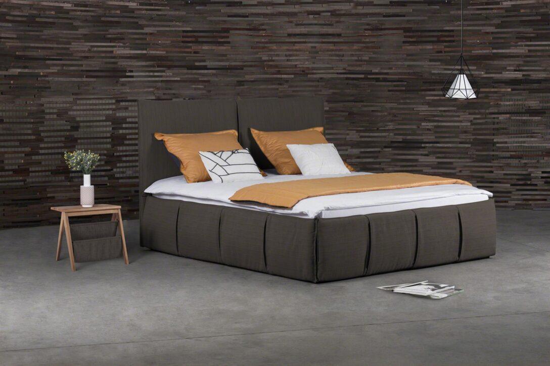 Large Size of Polsterbett 200x220 Doppelbett Agis Stoff Braun 180x200cm Fun Mbel Betten Bett Wohnzimmer Polsterbett 200x220