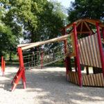 Spielturm Bauhaus Wohnzimmer Spielturm Bauhaus Spielplatz Park Breitenfeld Stadt Leipzig Garten Fenster Kinderspielturm