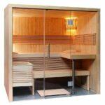Außensauna Wandaufbau Sauna Mit Glasfront 214 160 201 Cm Eos Bi O Filius Wohnzimmer Außensauna Wandaufbau