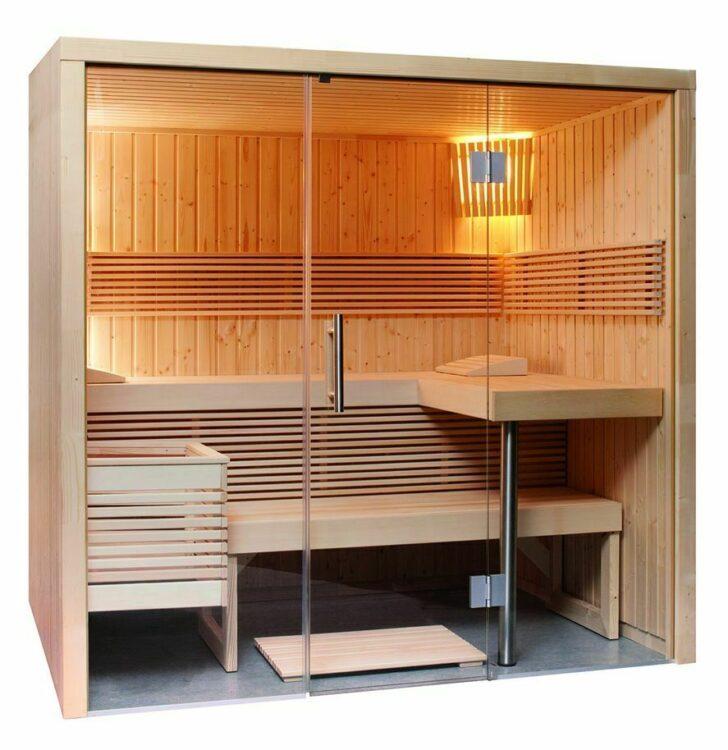 Medium Size of Außensauna Wandaufbau Sauna Mit Glasfront 214 160 201 Cm Eos Bi O Filius Wohnzimmer Außensauna Wandaufbau