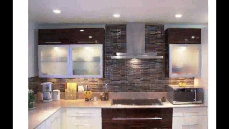Medium Size of Fliesen Kche Beispiele Youtube Küche Fliesenspiegel Glas Selber Machen Küchen Regal Wohnzimmer Küchen Fliesenspiegel