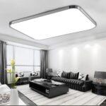 Wohnzimmer Einrichten Ledersofa Led Panel Beleuchtung Ebay Decke Lampe Dimmbar Mit Moderne Wohnzimmerleuchten Ideen 96w Deckenleuchte Vorhänge Teppich Wohnzimmer Wohnzimmer Led