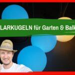 Solarkugeln Solarleuchten Test Trick Erfahrungsbericht Youtube Relaxsessel Garten Aldi Wohnzimmer Solarkugeln Aldi