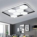 Designer Lampen Wohnzimmer Wohnzimmer Wohnzimmerlampe Modern Led Decke Dimmbar Acryl Lampenschirm Wohnzimmer Sessel Indirekte Beleuchtung Deko Lampen Küche Deckenleuchten Anbauwand Deckenleuchte