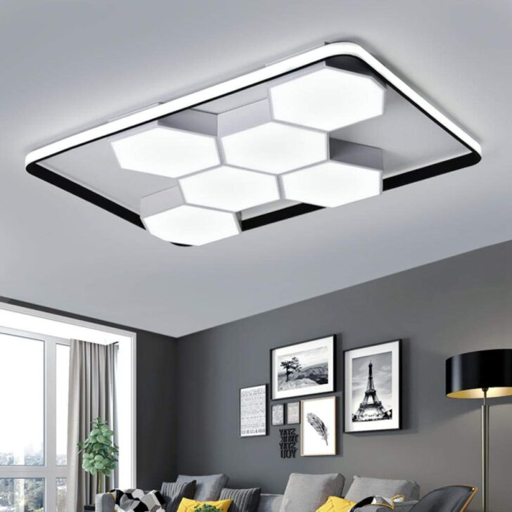 Medium Size of Wohnzimmerlampe Modern Led Decke Dimmbar Acryl Lampenschirm Wohnzimmer Sessel Indirekte Beleuchtung Deko Lampen Küche Deckenleuchten Anbauwand Deckenleuchte Wohnzimmer Designer Lampen Wohnzimmer
