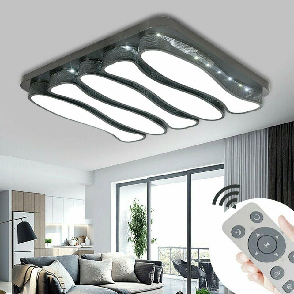 Full Size of Led Fernbedienung Bauhaus Deckenleuchte Rund Per Schalter 3 Stufen Funktioniert Nicht Farbwechsel E27 Obi 78w Fb In Wohnzimmer Led Wohnzimmerlampe