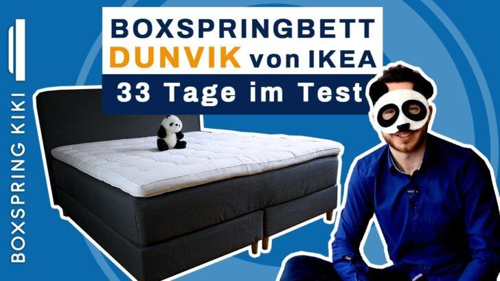 Medium Size of Stauraum Bett 120x200 Ikea Boxspringbett Dunvik Test Von Mit Fazit Nach 33 Nchten Kleinkind 180x200 Lattenrost Und Matratze Im Schrank Gebrauchte Betten Wohnzimmer Stauraum Bett 120x200 Ikea