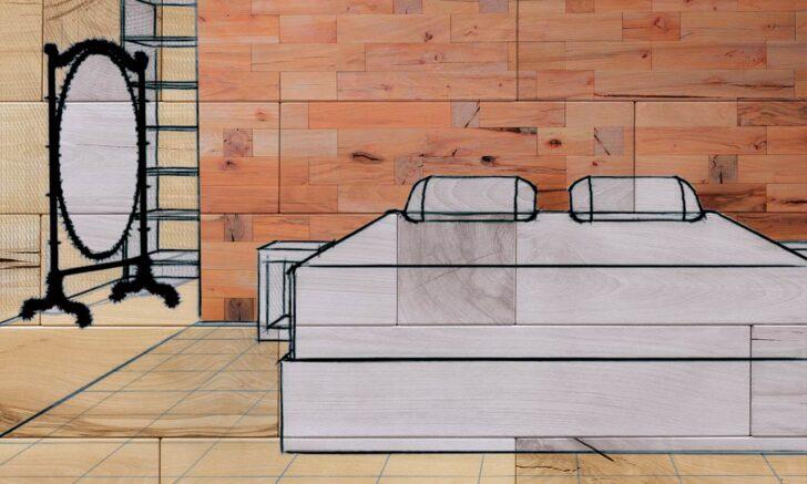 Medium Size of Schlafzimmer Wand Dekoration Ideen Craftwand Nolte Wandtattoos Sprüche Weiss Eckschrank Regal Bad Wandregal Rauch Romantische Landhaus Kommode Sessel Wohnzimmer Deko Schlafzimmer Wand