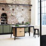 L Küche Mit E Geräten Granitplatten Günstig Kaufen Miele Müllschrank Sockelblende Theke Abfallbehälter Einbauküche Wandregal Modulküche Landhausküche Wohnzimmer Habitat Küche