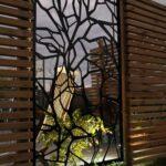 Garten Trennwände Sichtschutz Metall Fr 65 Ideen Sichtschutzelemente Liegestuhl Gewächshaus Lounge Sofa Vertikaler Feuerschale Paravent Bewässerungssysteme Wohnzimmer Garten Trennwände