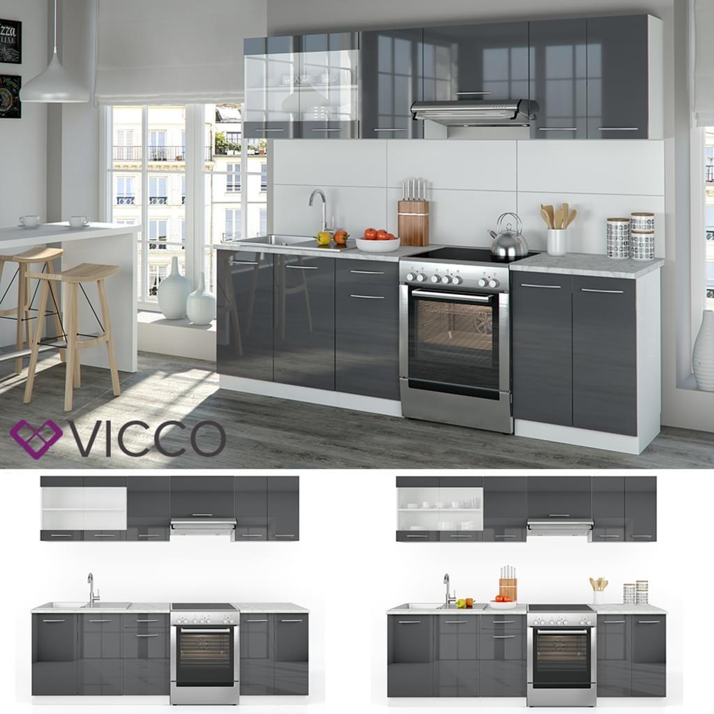 Full Size of Vicco Kche Raul Kchenzeile Kchenblock Einbaukche Real Küchen Regal Wohnzimmer Real Küchen