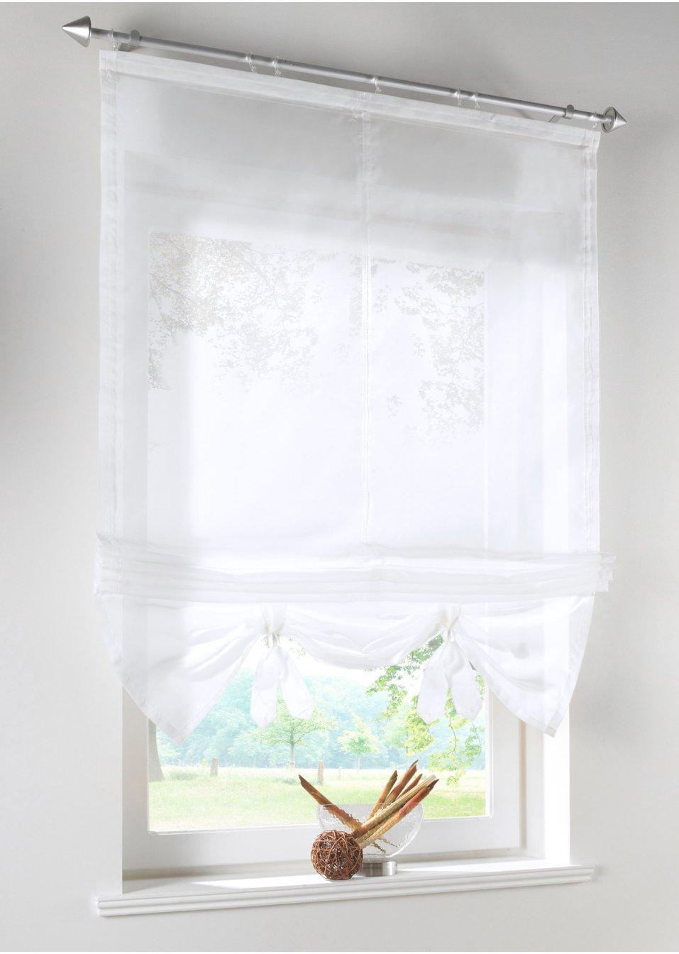 Full Size of Raffrollo Mit Klettband Verspielte Fensterdekoration Leichtem Sichtschutz Wei Bett 140x200 Matratze Und Lattenrost Betten Bettkasten 3 Sitzer Sofa Wohnzimmer Raffrollo Mit Klettband