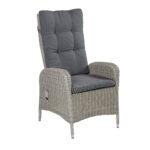 Liegesessel Verstellbar Positionsstuhl Bilbao Gartenstuhl Grau Polyrattan Mit Sofa Verstellbarer Sitztiefe Wohnzimmer Liegesessel Verstellbar