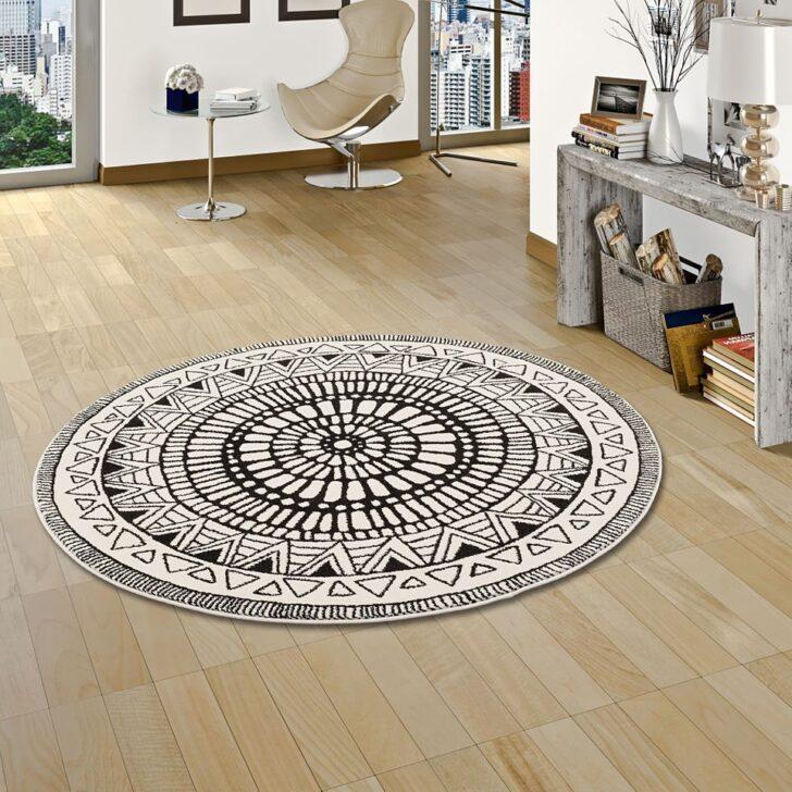 Medium Size of Teppich Schwarz Weiß Designer Sevilla Mandala Weiss Rund Teppiche Bett 140x200 180x200 Weißes Schlafzimmer Schweißausbrüche Wechseljahre 200x200 Esstisch Wohnzimmer Teppich Schwarz Weiß