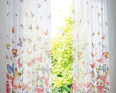 Bon Prix Vorhänge Wohnzimmer Gardine Mit Schmetterling Druck 1er Pack In 2020 Gardinen Schlafzimmer Vorhänge Bonprix Betten Küche Wohnzimmer