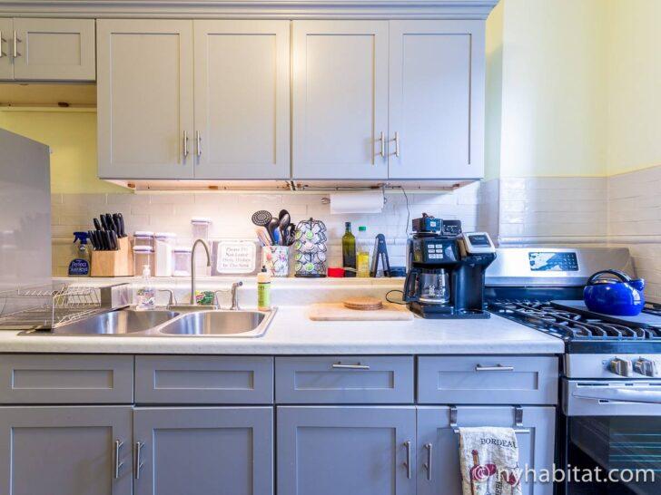 Medium Size of Habitat Küche Ferienwohnung In New York 4 Zimmer Crown Heights Ny 15555 Holzbrett L Form Landhausküche Einbauküche Mit E Geräten Tapete Modern Wohnzimmer Habitat Küche