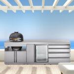 Outdoorkche Von Meineoutdoorkchede Amerikanisches Bett Amerikanische Küche Kaufen Betten Outdoor Edelstahl Küchen Regal Wohnzimmer Amerikanische Outdoor Küchen