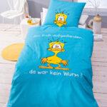 Lustige Bettwäsche 155x220 Bettwsche Da War Kein Wurm Sprüche T Shirt T Shirt Wohnzimmer Lustige Bettwäsche 155x220