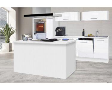Kleine Inselküche Wohnzimmer Kleine Inselküche Respekta Premium Inselkche 310 Cm Wei Hochglanz Kaufen Bei Obi Kleiner Esstisch Regale Kleines Sofa Einbauküche Tisch Küche Regal Weiß