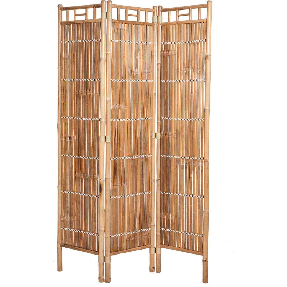 Large Size of Paravent Bambus Safari 120 4 180 Cm Natur Kaufen Bei Obi Garten Bett Wohnzimmer Paravent Bambus