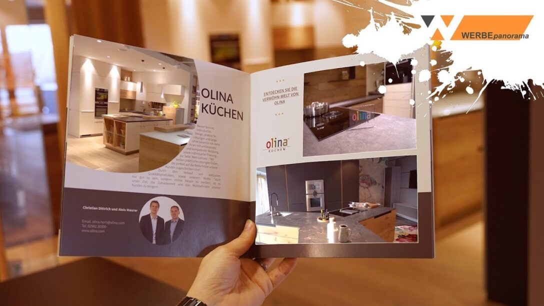 Large Size of Video Broschre Von Olina Kchen Youtube Küchen Regal Wohnzimmer Olina Küchen