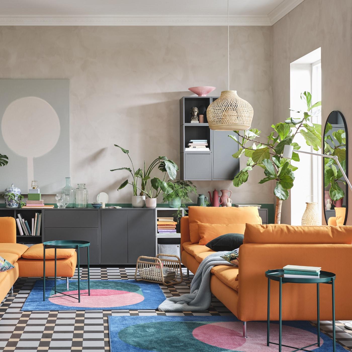Full Size of Wohnwand Ikea Einrichtungsideen Inspirationen Fr Dein Wohnzimmer Schweiz Betten Bei Küche Kosten Kaufen Modulküche Miniküche Sofa Mit Schlaffunktion 160x200 Wohnzimmer Wohnwand Ikea