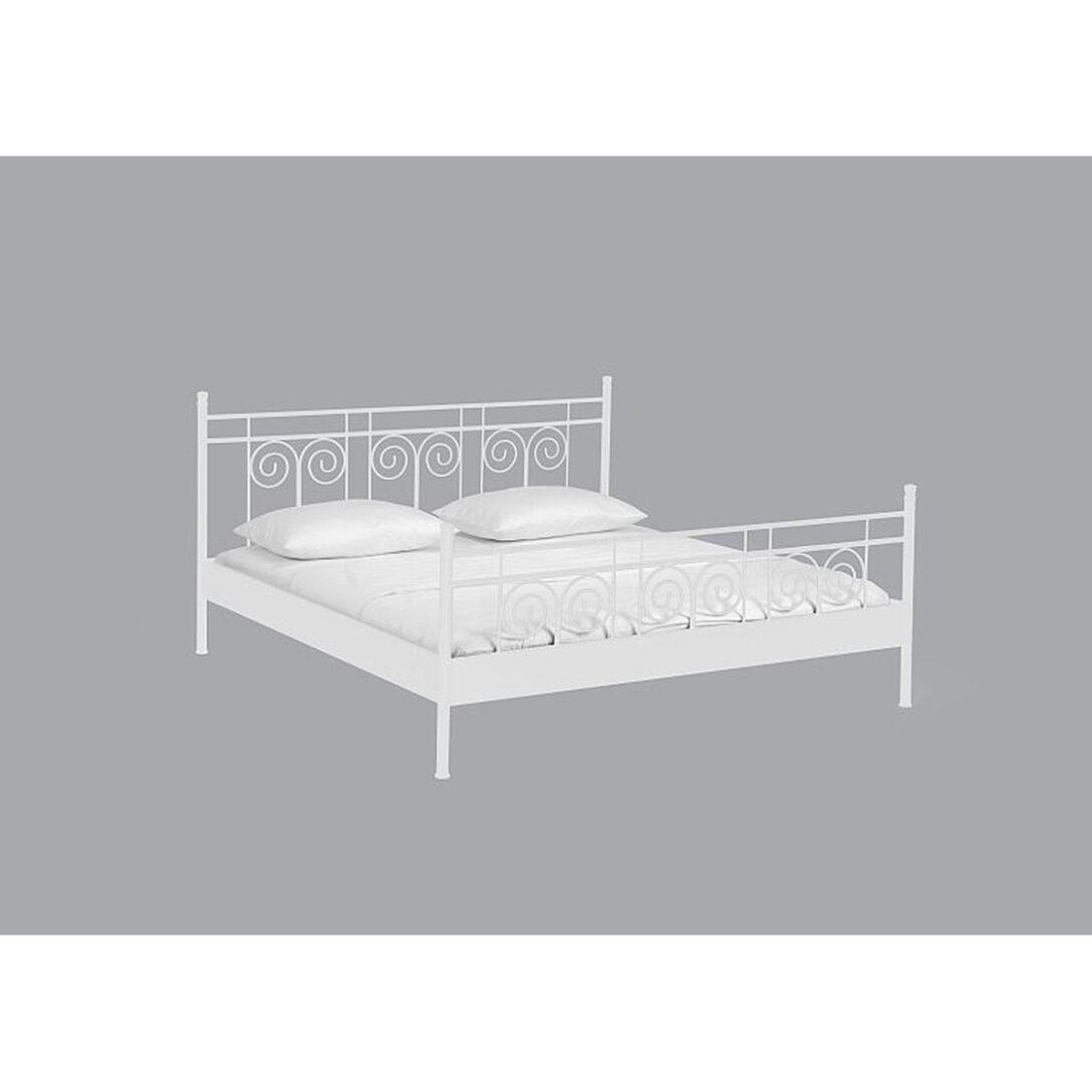 Large Size of Dico Metallbett Einzelbett Doppelbett Iris 21200 Bett Weiß 100x200 Betten Wohnzimmer Metallbett 100x200