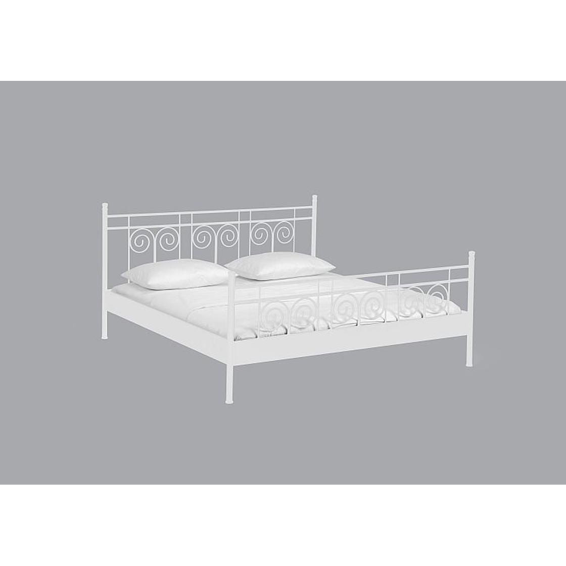 Full Size of Dico Metallbett Einzelbett Doppelbett Iris 21200 Bett Weiß 100x200 Betten Wohnzimmer Metallbett 100x200