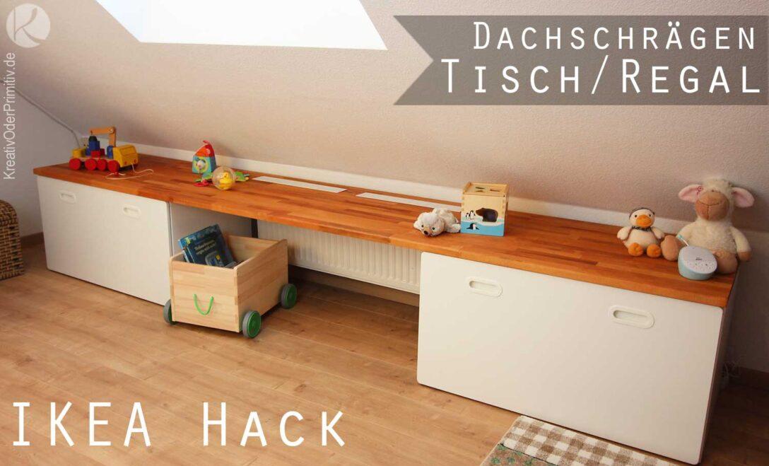 Large Size of Ikea Hacks Aufbewahrung Kreativ Oder Primitiv Dachschrgen Tisch Regal Hack Stuva Küche Kosten Kaufen Sofa Mit Schlaffunktion Betten Modulküche Bett Wohnzimmer Ikea Hacks Aufbewahrung