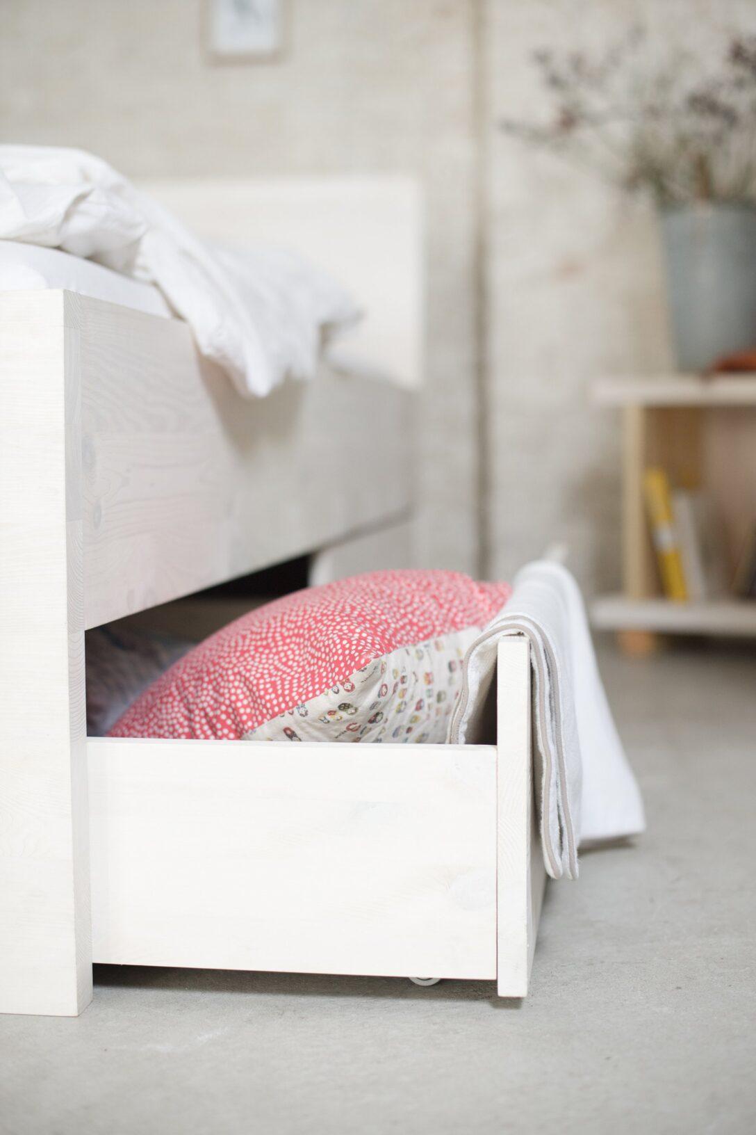 Large Size of Stauraumbetten Aus Zertifizierten Massivholz Bio Bett 200x200 Weiß Komforthöhe Stauraum Betten Mit Bettkasten Wohnzimmer Stauraumbett 200x200