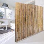 Paravent Bambus Balkon Wohnzimmer Paravent Bambus Balkon Sichtschutzzaun Natur 3 Gren Volle Bambusrohre Bett Garten
