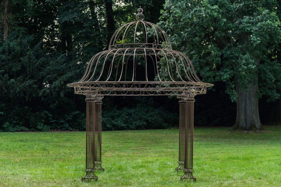 Large Size of Amazonde Clp Garten Pavillon Palais L Runder Rankpavillon 370 Wohnzimmer Pavillon Eisen