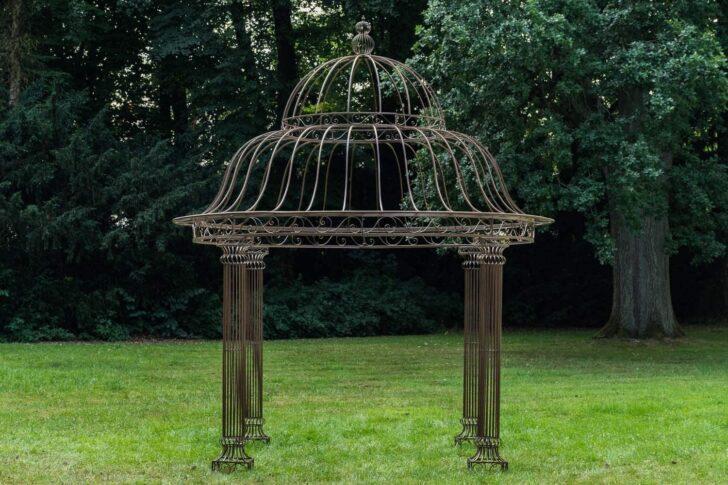 Medium Size of Amazonde Clp Garten Pavillon Palais L Runder Rankpavillon 370 Wohnzimmer Pavillon Eisen