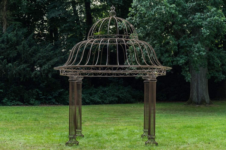 Full Size of Amazonde Clp Garten Pavillon Palais L Runder Rankpavillon 370 Wohnzimmer Pavillon Eisen