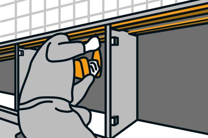Medium Size of Hornbach Arbeitsplatte Einbauen Anleitung Von Küche Sideboard Mit Arbeitsplatten Wohnzimmer Hornbach Arbeitsplatte