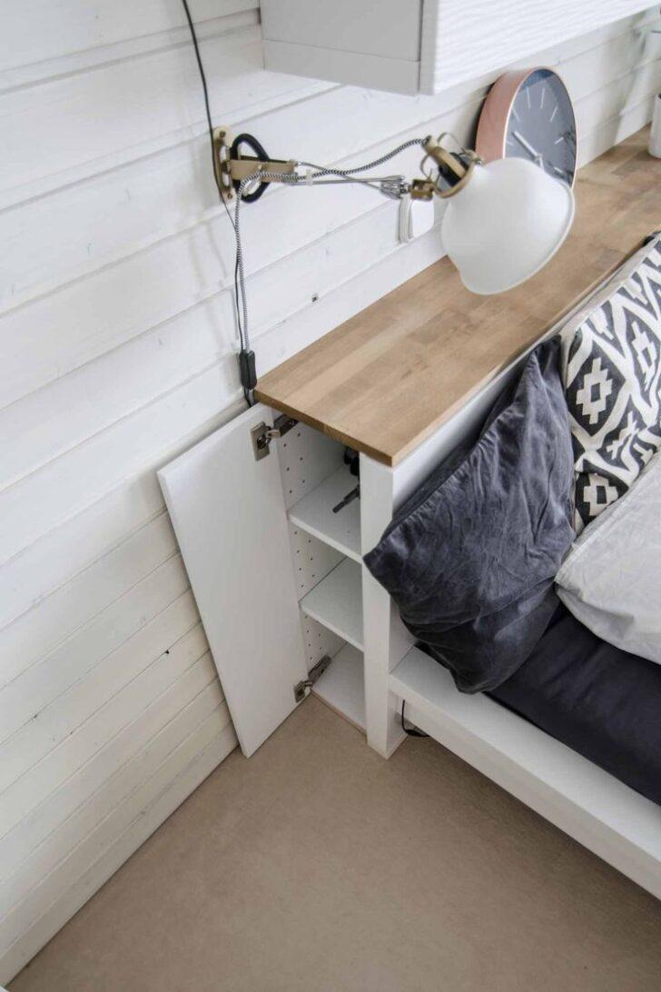Medium Size of Kopfteil Bett Regal 180 Mit Bauen Ikea 6 Mal Wurden Hacks In Der Perfekten Menge An Speicher Leiter Nolte Betten Unterbett Erhöhtes Für Kleidung Holzregal Wohnzimmer Kopfteil Bett Regal