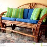 Couch Terrasse Wohnzimmer Terrasse Sofa Stockfoto Bild Von Innen