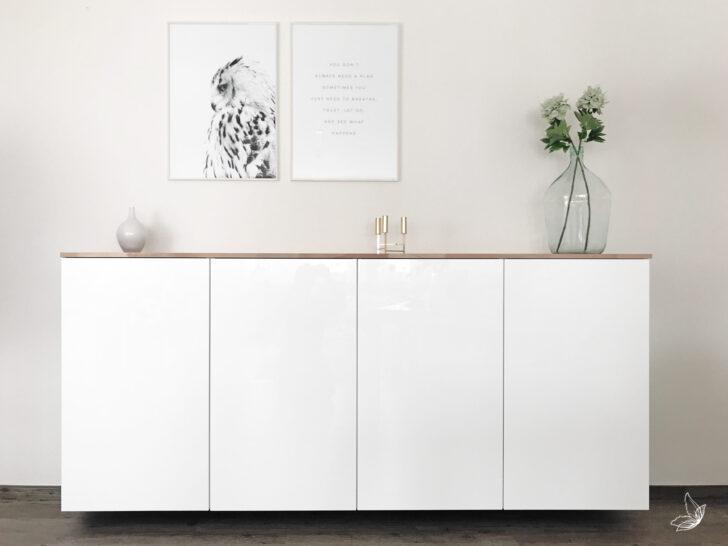Medium Size of Anrichte Mit Arbeitsplatte Ikea Hack Metod Kchenschrank Als Sideboard Küche Theke Bett Stauraum 3 Sitzer Sofa Relaxfunktion Günstige E Geräten Wohnzimmer Anrichte Mit Arbeitsplatte